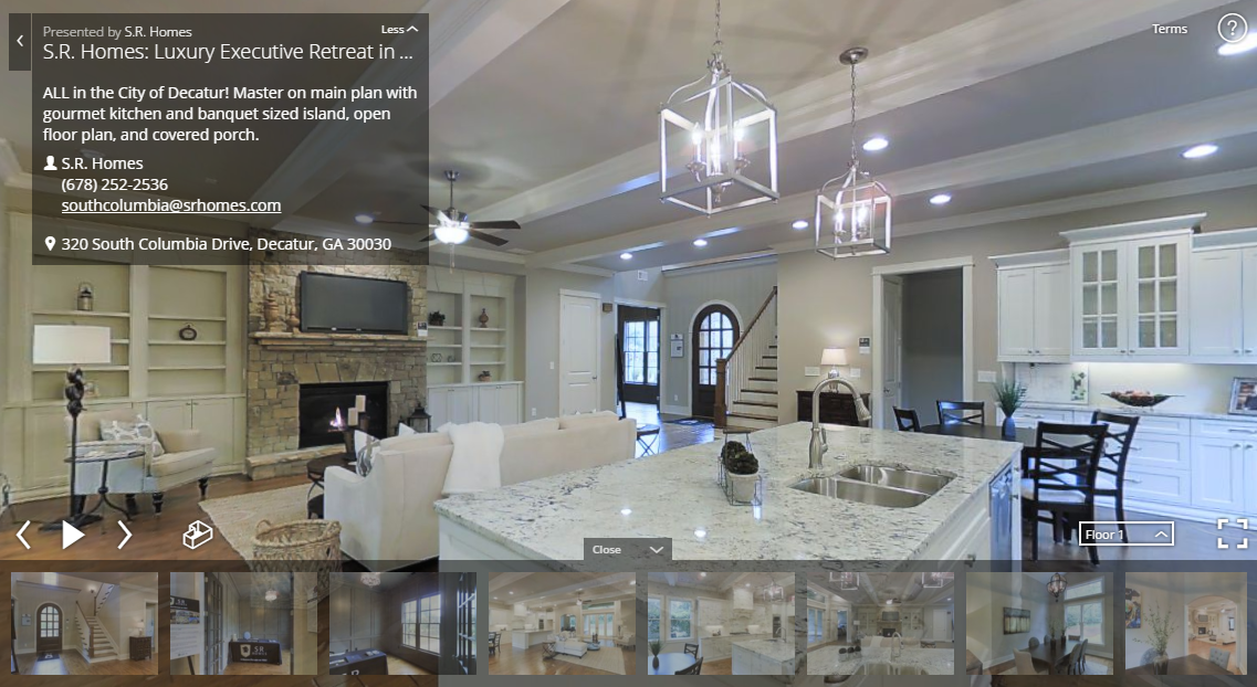 What S A Better Way To View Homes Online 3d Tour Or Video Vantagepoint 3d