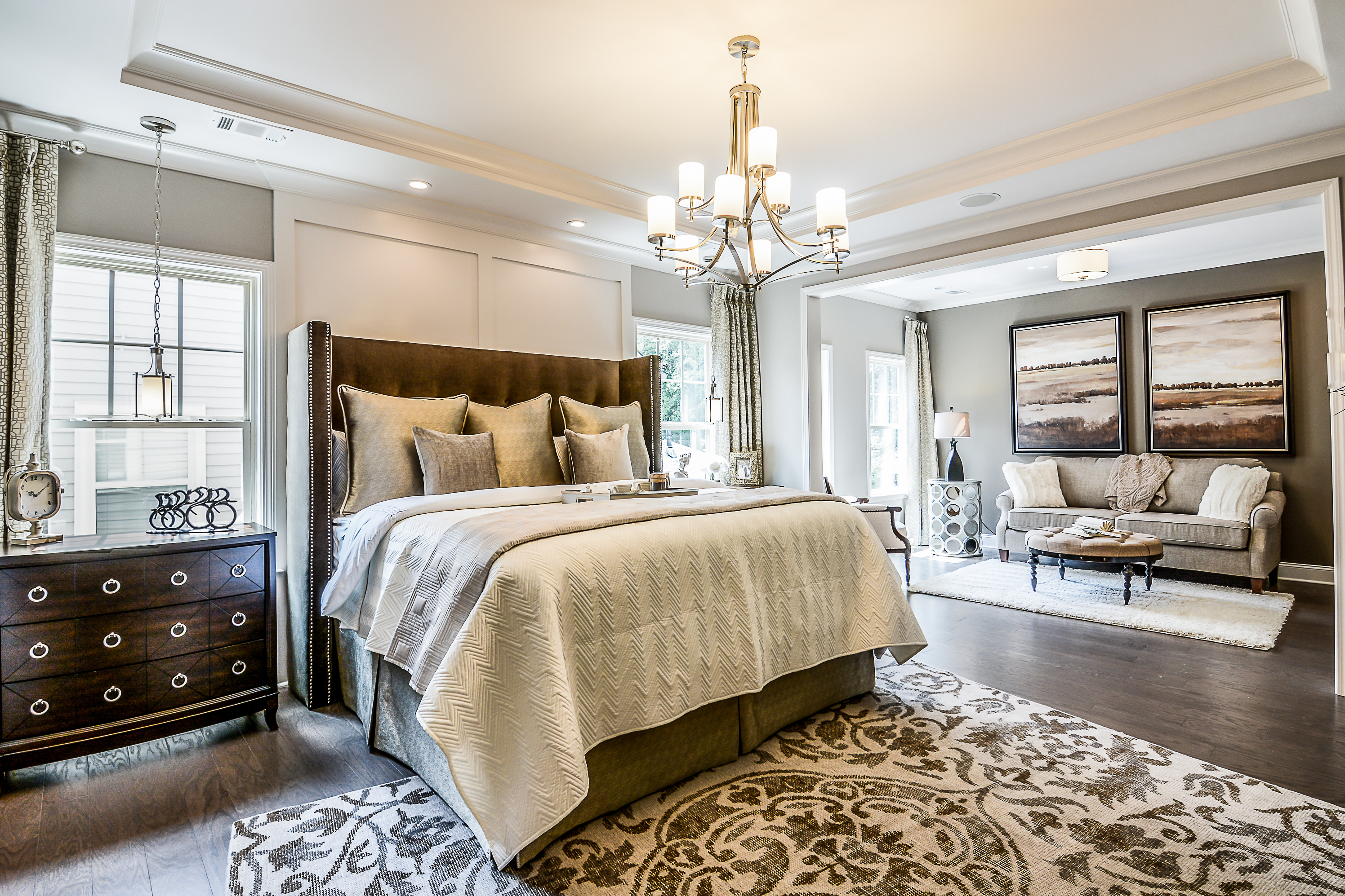 Elegant Master Bedroom