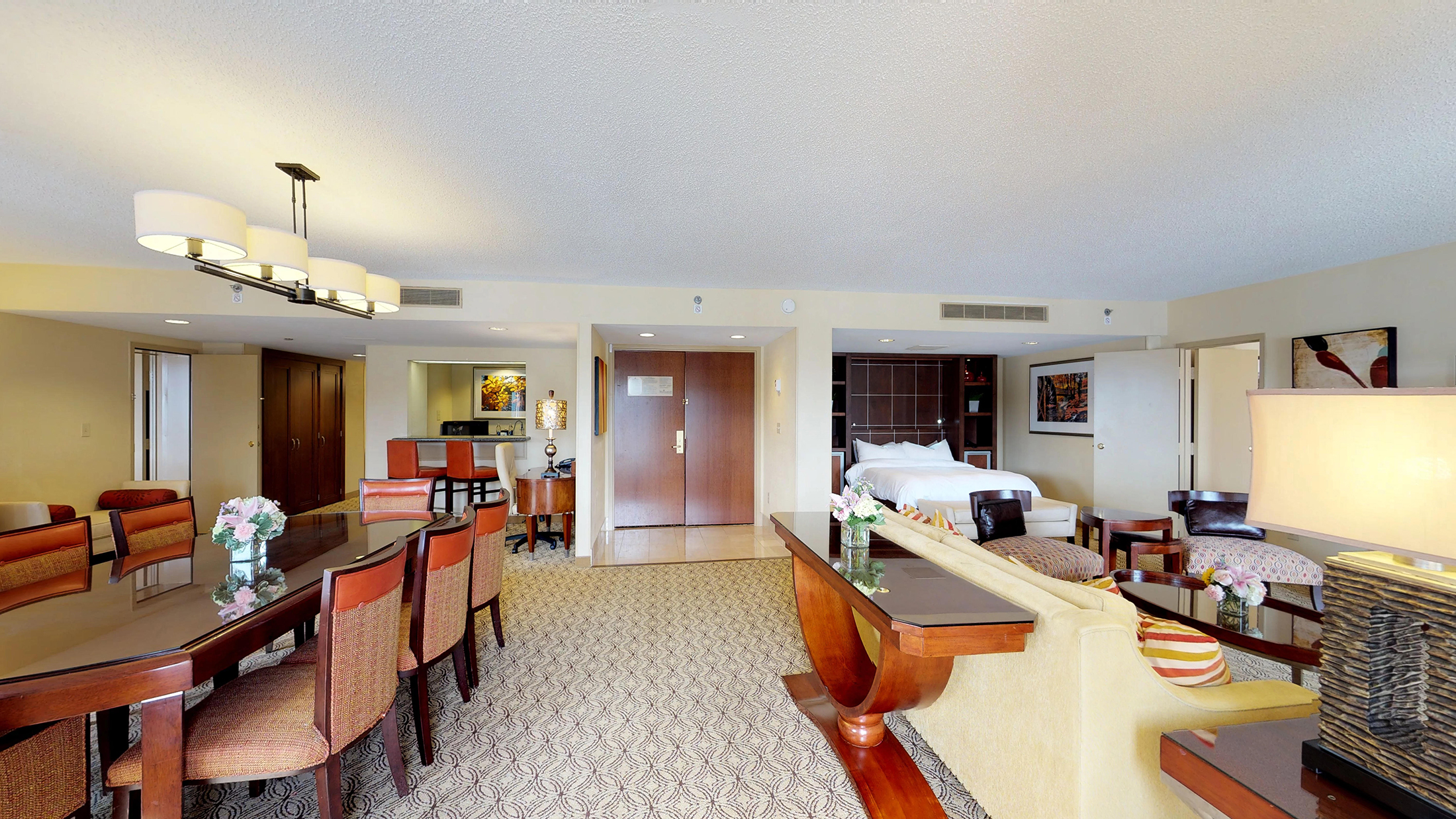 The Atlanta Evergreen Marriott Conference Resort Guest Rooms