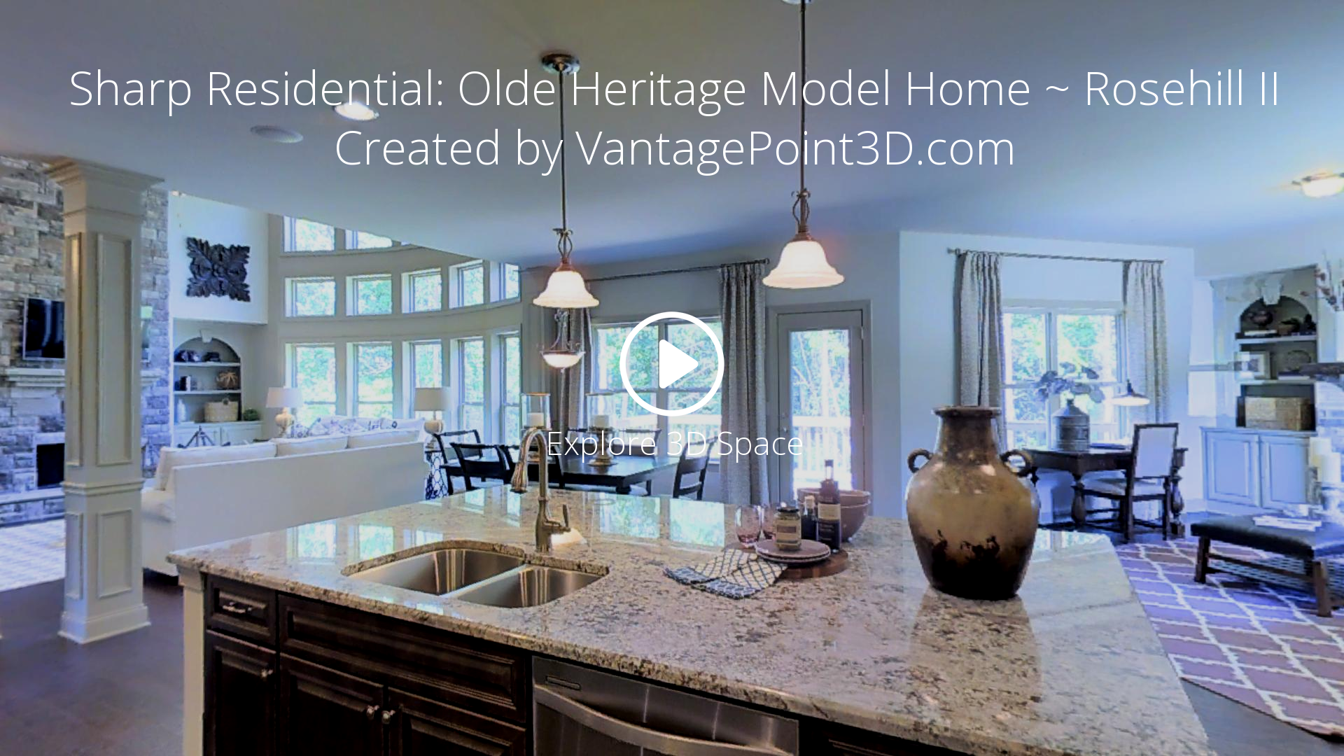 Sharp Residential: Olde Heritage Model Home ~ Rosehill II ...