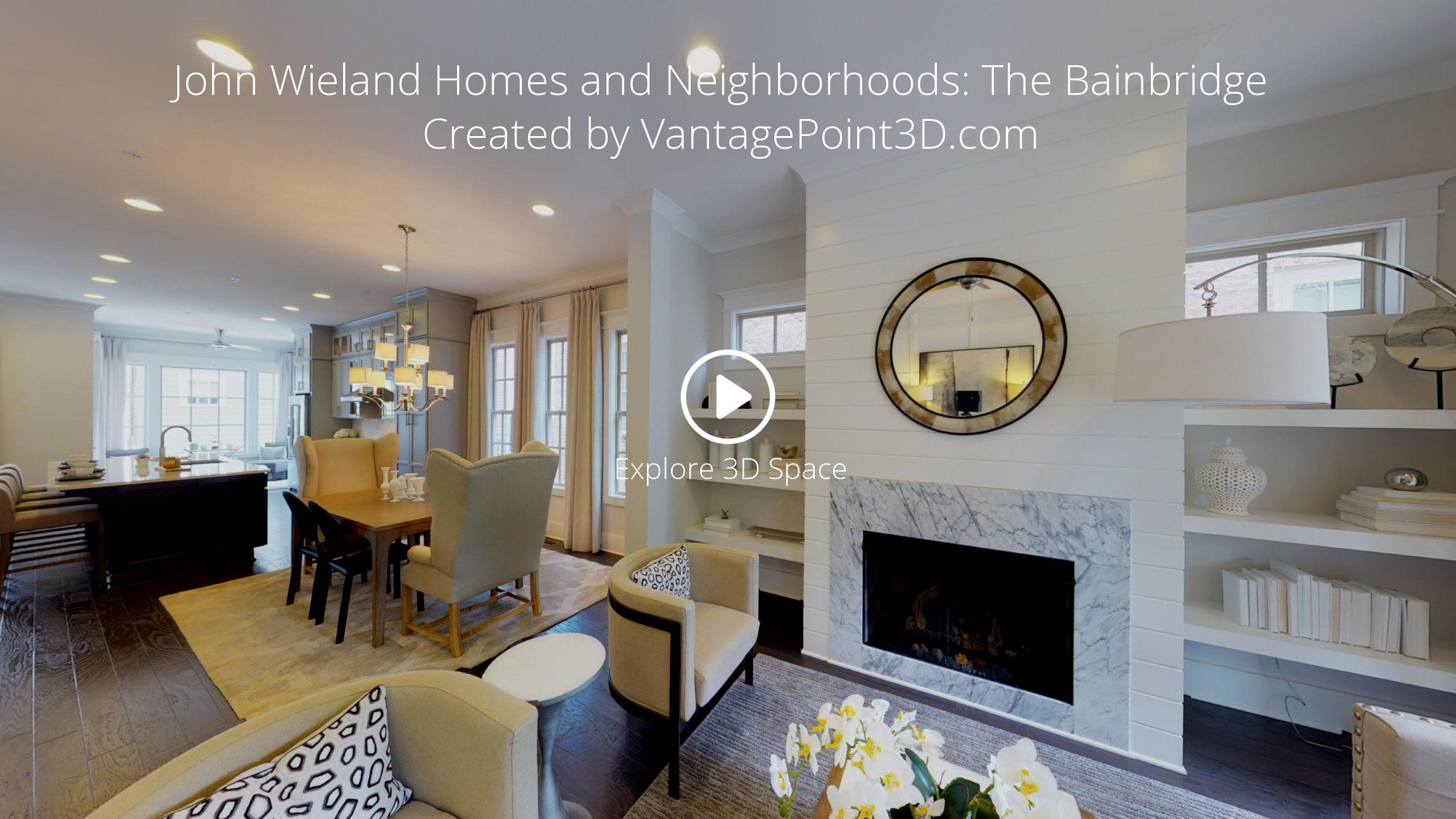 John Wieland Homes And Neighborhoods The Bainbridge Vantagepoint 3d