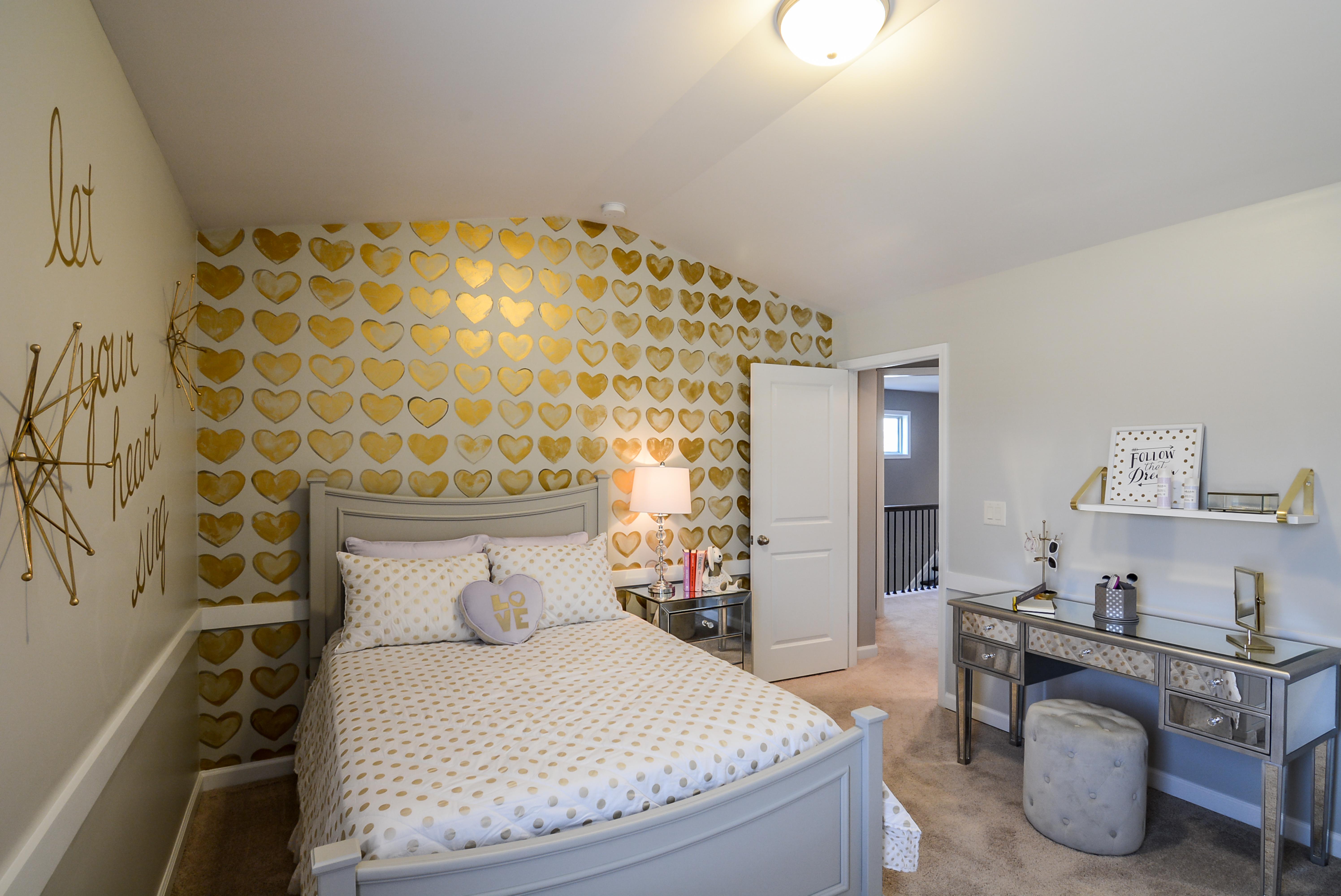 Golden Girl Bedroom