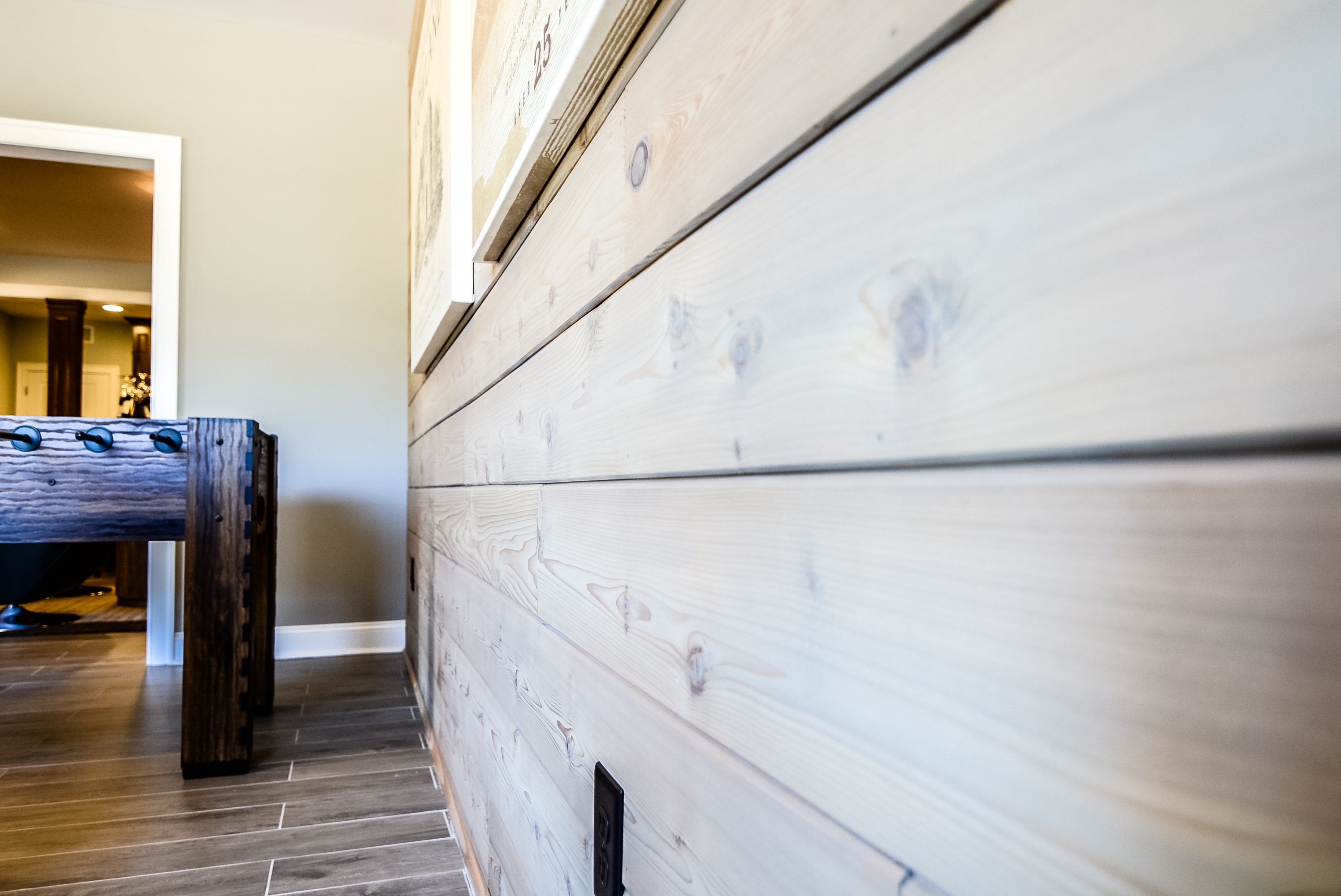 Warm Wood Walls