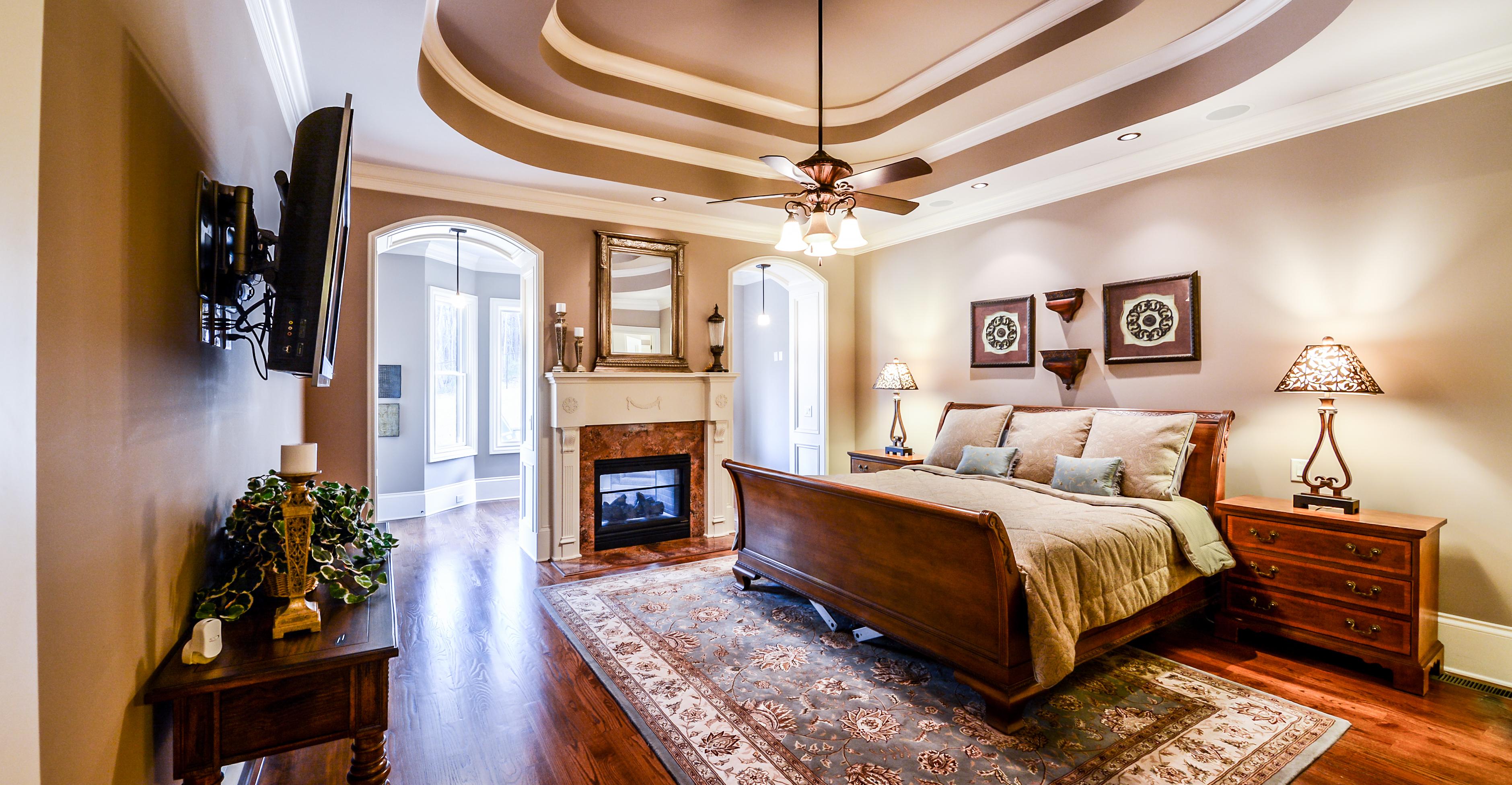 Fireside Master Bedroom