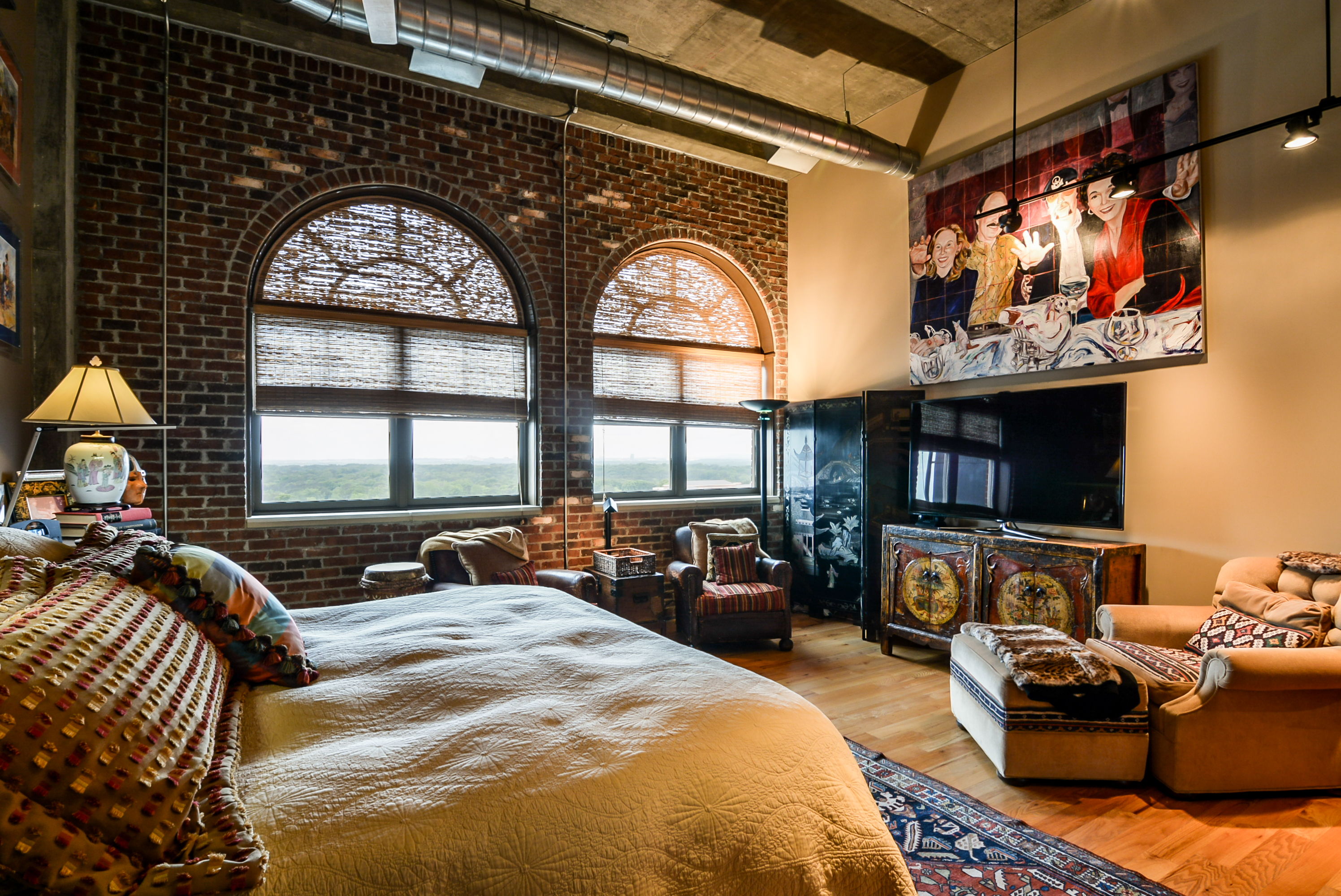 Exposed Brick Penthouse