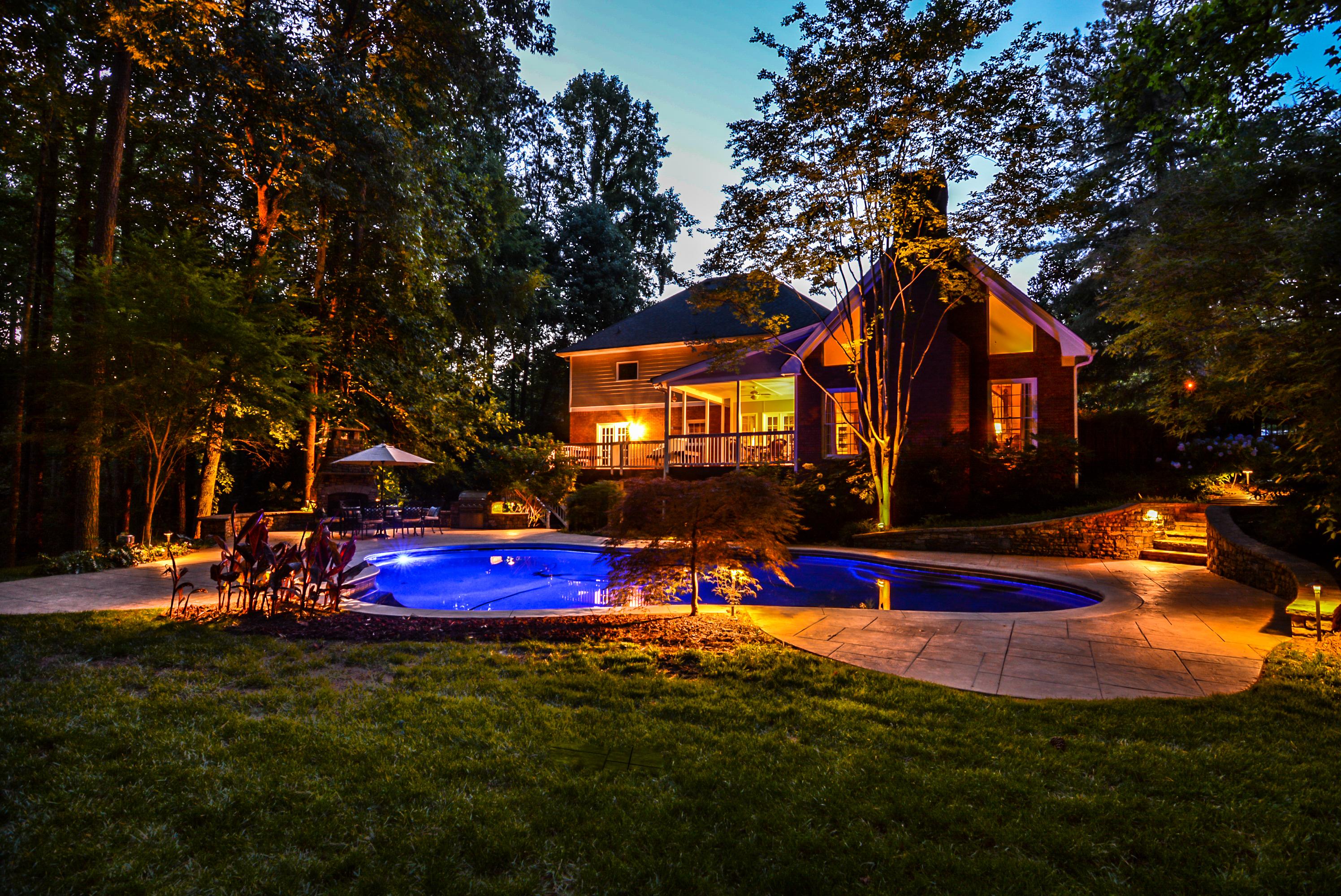 Twilight Pool