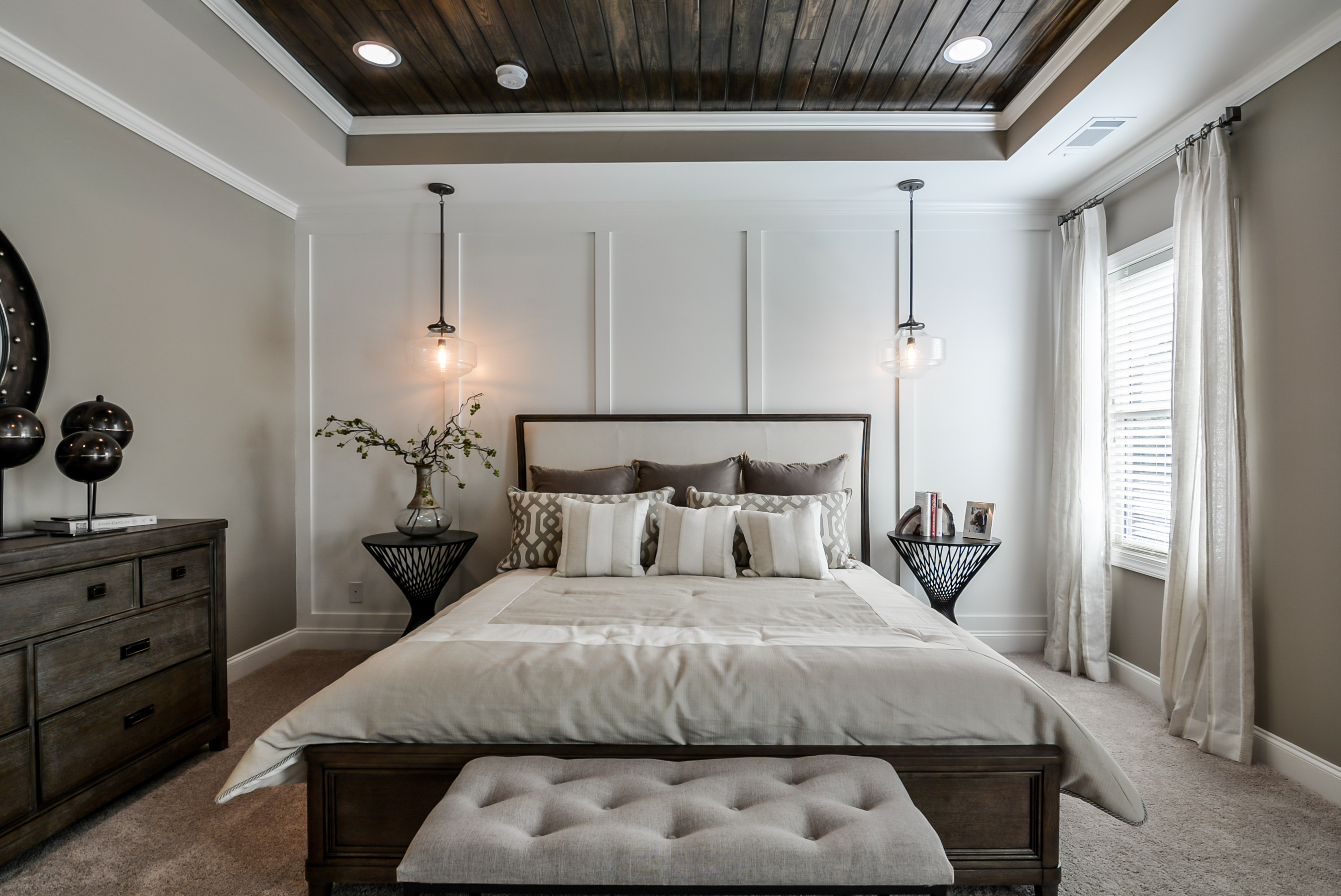 Wood Tray Ceiling