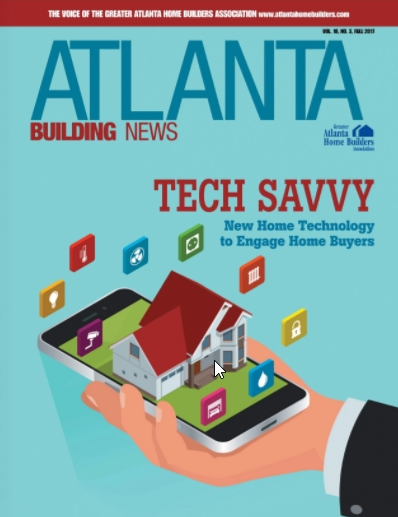 Atlanta Home Builders Feature New Technology Using 3D