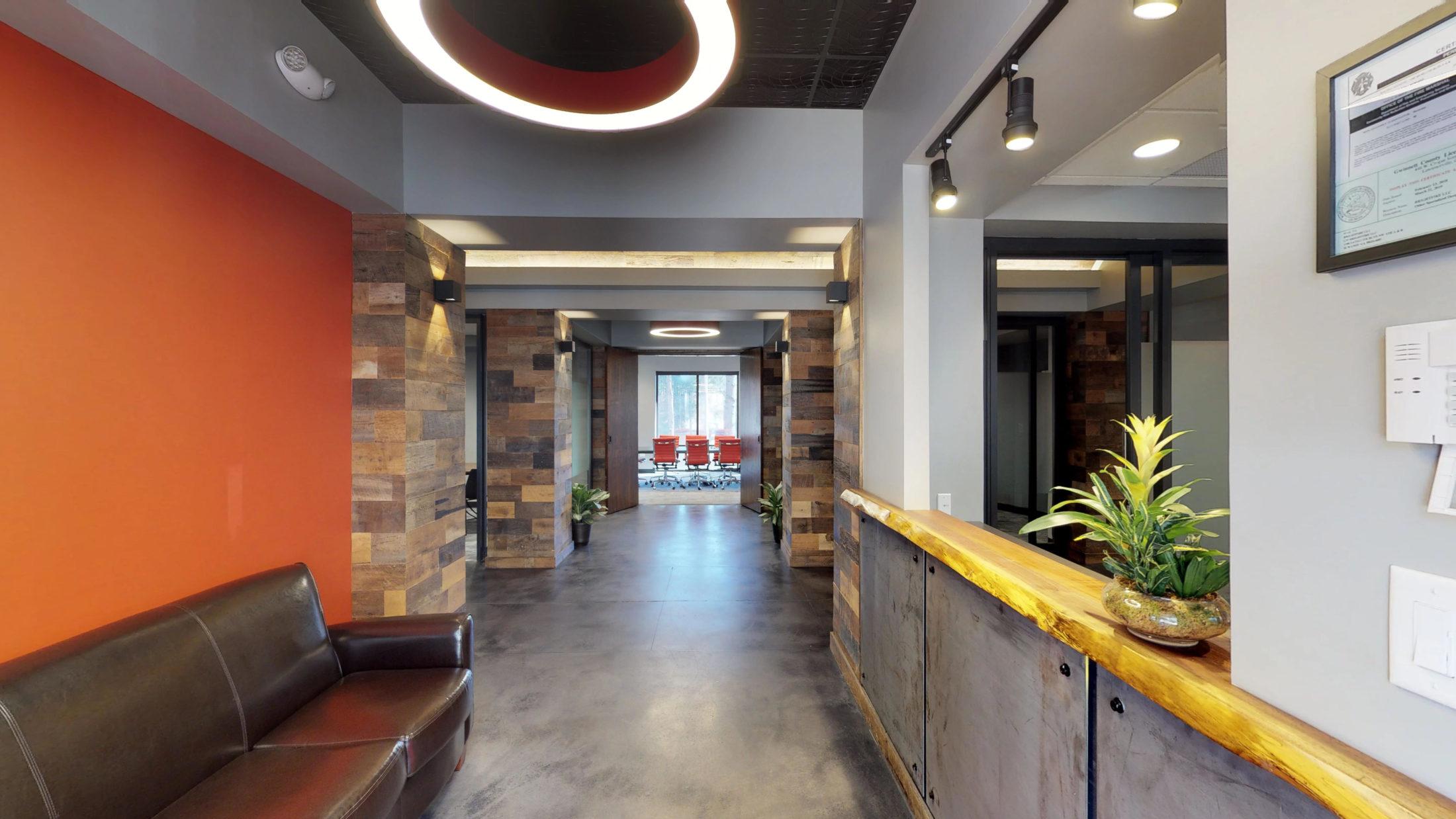 Natural Elements in Modern Office Design