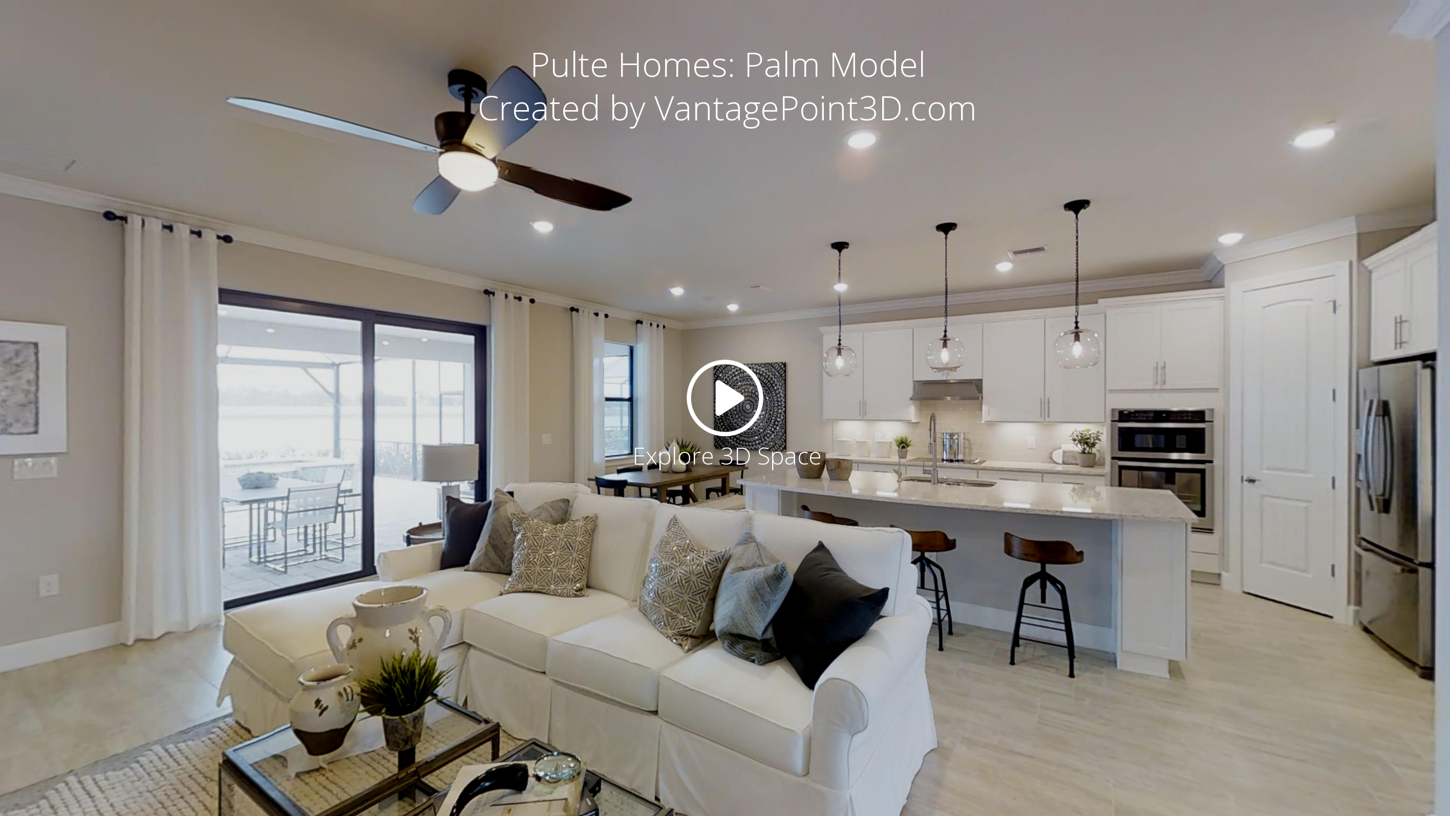 Pulte Homes Palm Model Vantagepoint 3d